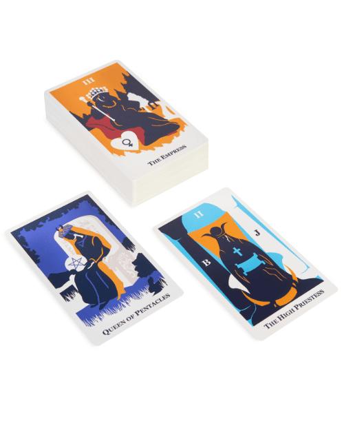 modern way tarot card stack
